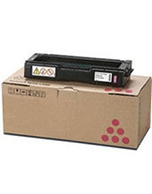 Lanier-SPC242SF-Magenta-Genuine Ricoh Lanier SPC242SF Magenta 406485 Toner Cartridge (Genuine)