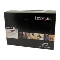 Lexmark 64017HR Black Toner Cartridge