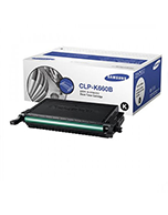 Samsung-Black-Genuine Samsung CLP 610/660 Black Toner Cartridge (Genuine)