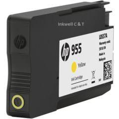 HP 955 L0S57AA Yellow Ink Cartridge (Genuine)