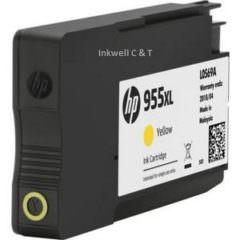 HP 955XL L0S69AA Yellow Ink Cartridge (Genuine)