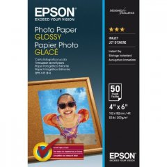 Epson Photo Paper Glossy 50 Sheet Pack