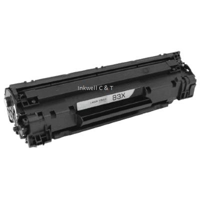 HP-CF283X-Compatible HP 83X CF283X Black Toner Cartridge (Compatible)