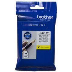 Brother LC-3317 Yellow Ink Cartridge (Genuine)