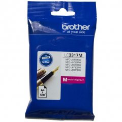 Brother LC-3317M Genuine Magenta Ink Cartridge
