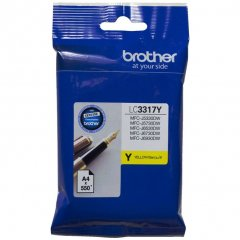 Brother LC-3317Y Genuine Yellow Ink Cartridge
