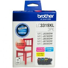 Brother LC-3319XL Value Pack Ink Cartridges