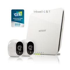 NETGEAR VMS3230 ARLO Smart Home Security – 2 HD Camera Security System