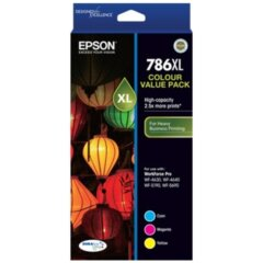 Epson 786XL Colour Value Pack Ink Cartridges