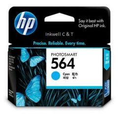 HP 564 CB318WA Cyan Ink Cartridge (Genuine)