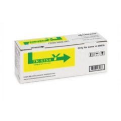 Kyocera TK-5154Y Yellow Toner Cartridge