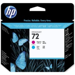 HP 72 Cyan & Magenta Print Head Cartridge