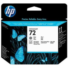 HP 72 Photo Black &  Grey Print Head Cartridge