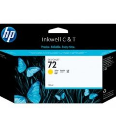 HP 72 C9373A Yellow Ink Cartridge (Genuine)