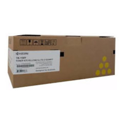 Kyocera TK-154Y Yellow Toner Cartridge