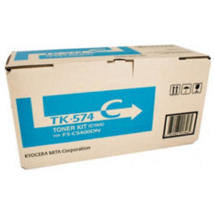 Kyocera TK-574C Cyan Toner Cartridge