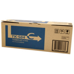 Kyocera TK-584C Cyan Toner Cartridge