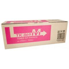 Kyocera TK-869M Magenta Toner Cartridge