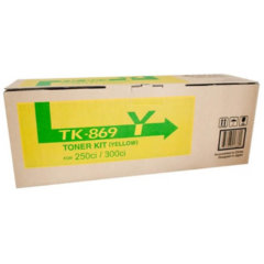Kyocera TK-869Y Yellow Toner Cartridge