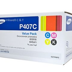 Samsung CLT-P407C Rainbow Pack Toner Cartridges SU388A (Genuine)