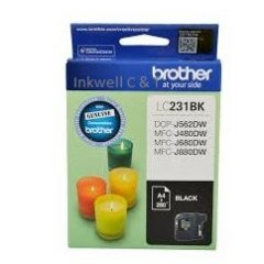 Brother LC-231 Black Ink Cartridge (Genuine)