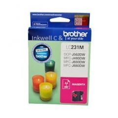 Brother LC-231 Magenta Ink Cartridge (Genuine)
