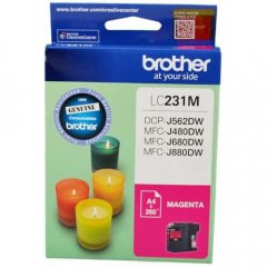 Brother LC-231 Magenta Genuine Ink Cartridge