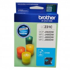 Brother LC-231 Cyan Genuine Ink Cartridge
