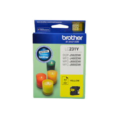 Brother LC-231 Yellow Ink Cartridge