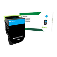Lexmark 808C Cyan Toner Cartridge