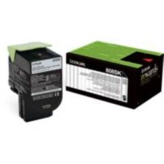 Lexmark 808K Black Toner Cartridge
