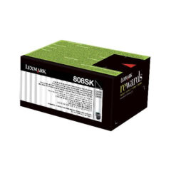Lexmark 808SK Black Toner Cartridge