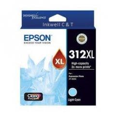 312-Lcyan-240x240 Epson 312HY Light Cyan C13T183592 Ink Cartridge (Genuine)