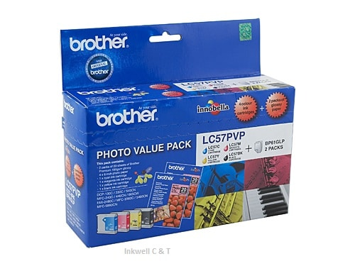 B57PVP Brother HC-05Bk Black Ink Cartridge (Genuine)