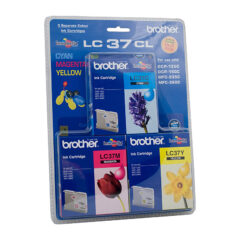 Brother LC-37CL Colour Pack Ink Cartridges