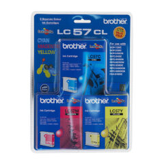 Brother LC-57 Colour Pack Ink Cartridges
