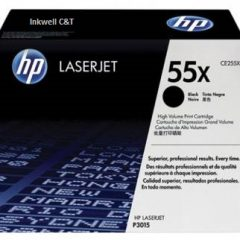 HP 55X CE255X Black Toner Cartridge (Genuine)