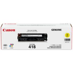 Canon CART418Y Yellow Toner Cartridge