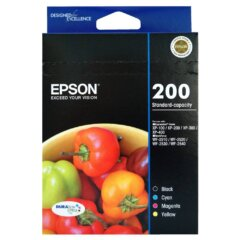 Epson 200 Value pack Ink Cartridges
