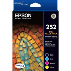 Epson 252 Value Pack Ink Cartridges