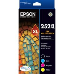 Epson 252XL Value Pack Ink Cartridges
