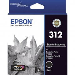 Epson 312 Black Ink Cartridge