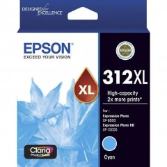 Epson 312XL Cyan Ink Cartridge