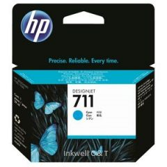 HP 711 Cyan CZ130A Ink Cartridge (Genuine)