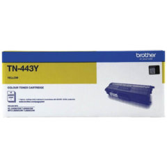 Brother TN-443Y Yellow Laser Toner Cartridge