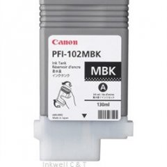 Canon PFi102 Matt Black Ink Cartridge (Genuine)