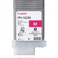 Canon PFi102 Magenta Ink Cartridge (Genuine)