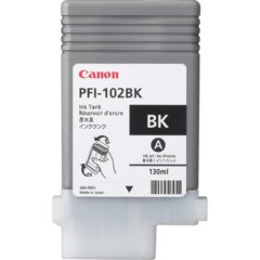 Canon PFi-102BK Black Ink Cartridge