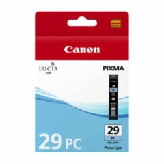 Canon PGI29 Photo Cyan Ink Cartridge