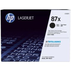 HP 87X Black Toner Cartridge